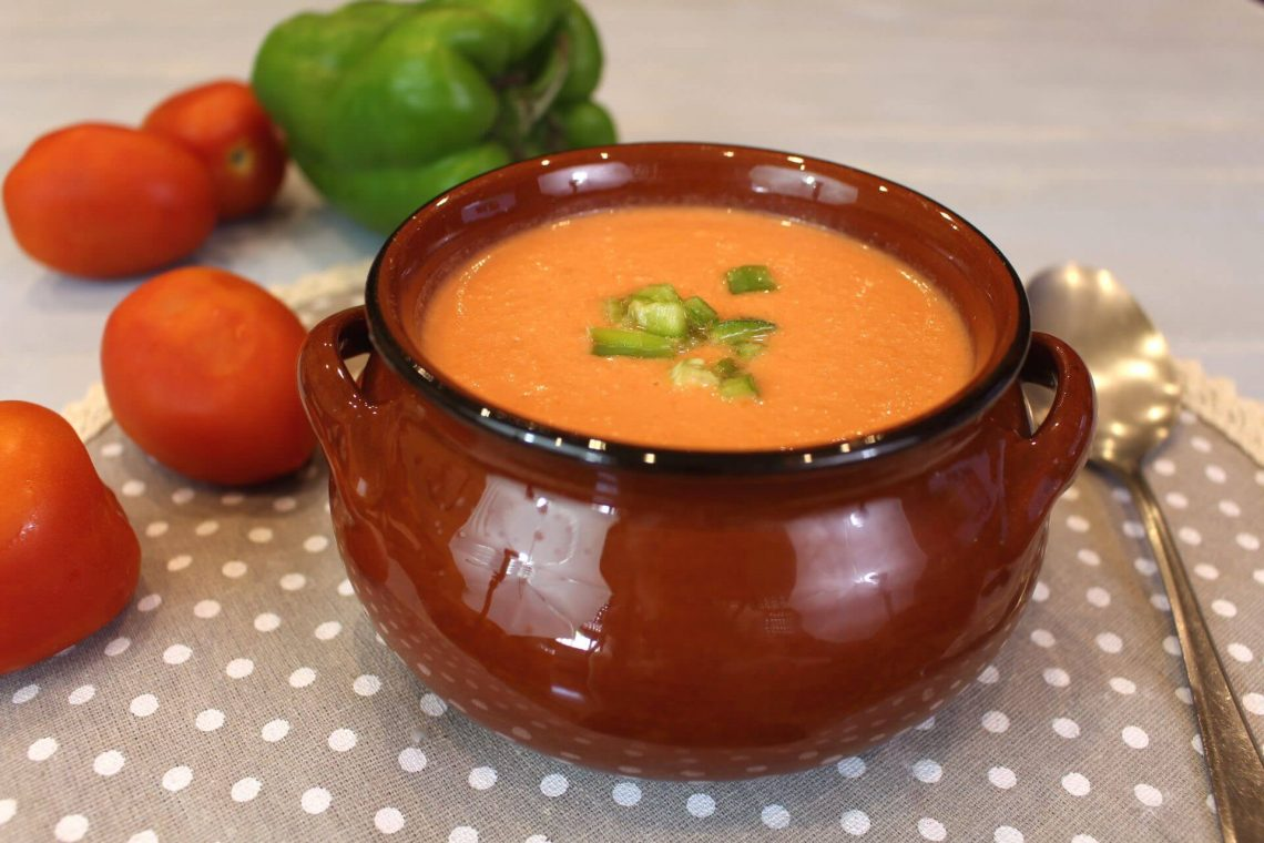 Receta de gazpacho en Mambo