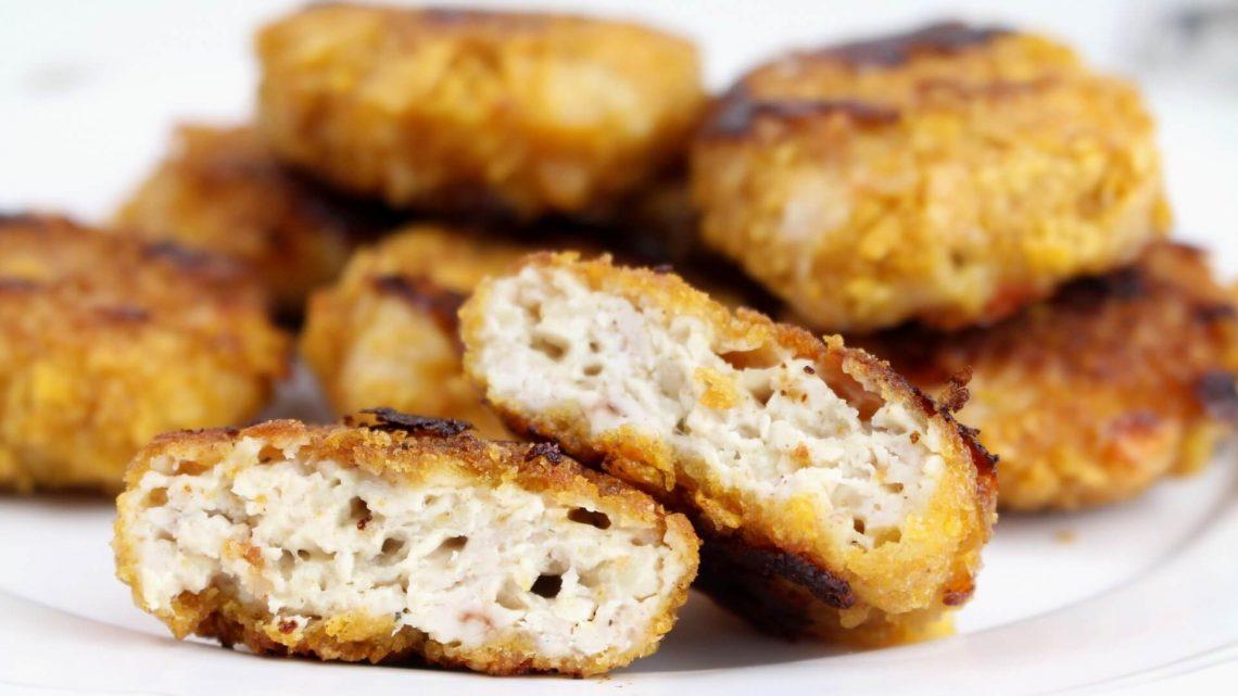 Receta de nuggets de pollo caseros saludables
