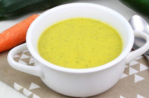 Receta de crema de calabacin y zanahoria con Mambo o Thermomix